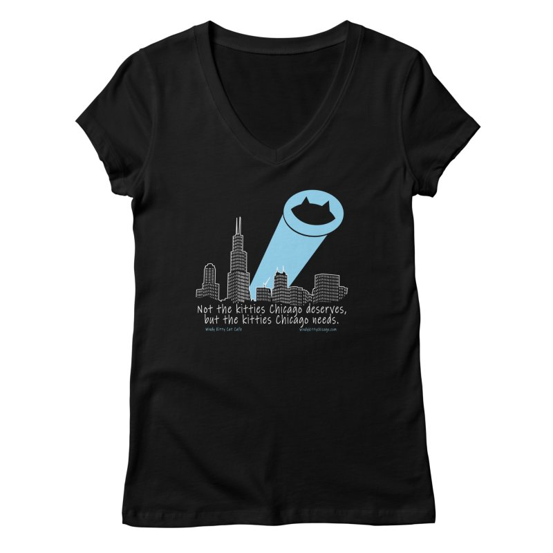 Women's None by Chicago Cat Chicks Cat Merch!
