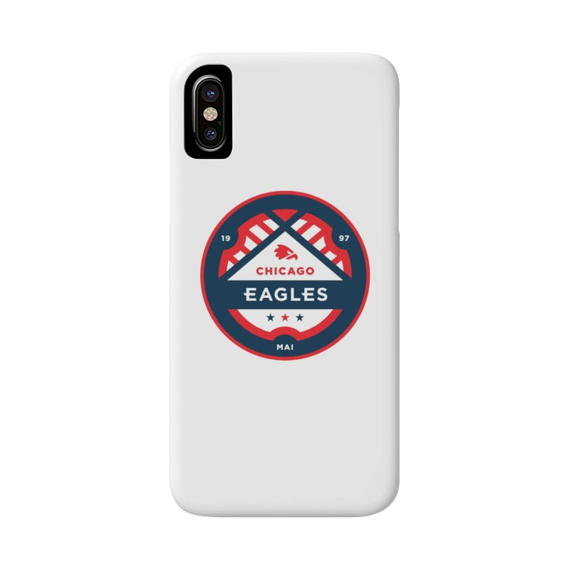 Chicago Eagles Crest Accessories Phone Case by Chicago Eagles