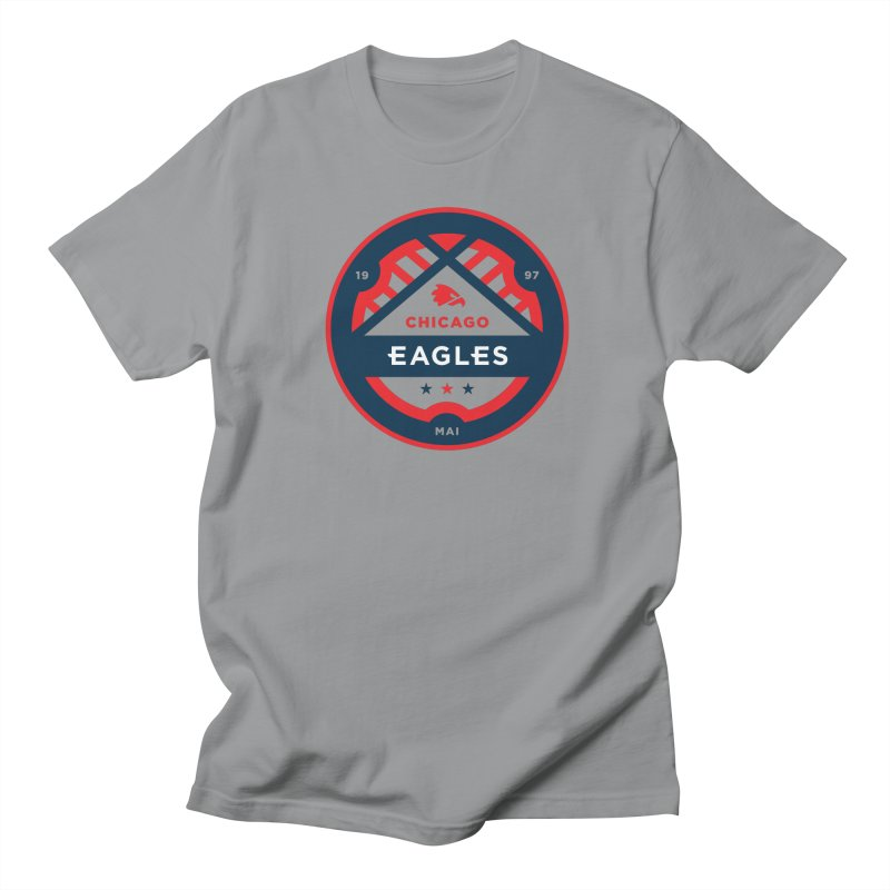 Chicago Eagles Crest Men's Regular T-Shirt by Chicago Eagles