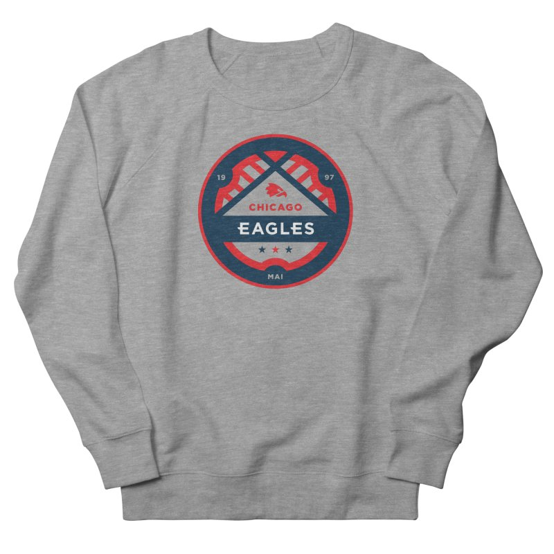 Chicago Eagles Crest Men's French Terry Sweatshirt by Chicago Eagles