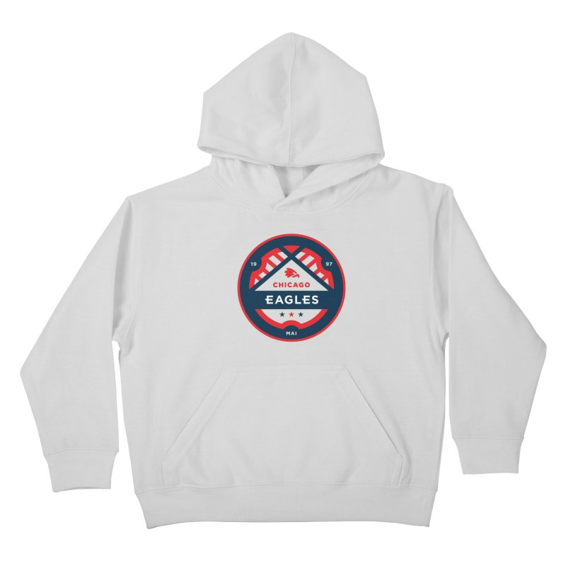 Chicago Eagles Crest Kids Pullover Hoody by Chicago Eagles