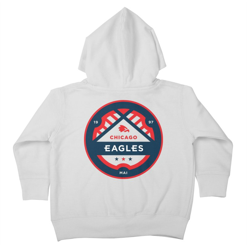 Chicago Eagles Crest Kids Toddler Zip-Up Hoody by Chicago Eagles