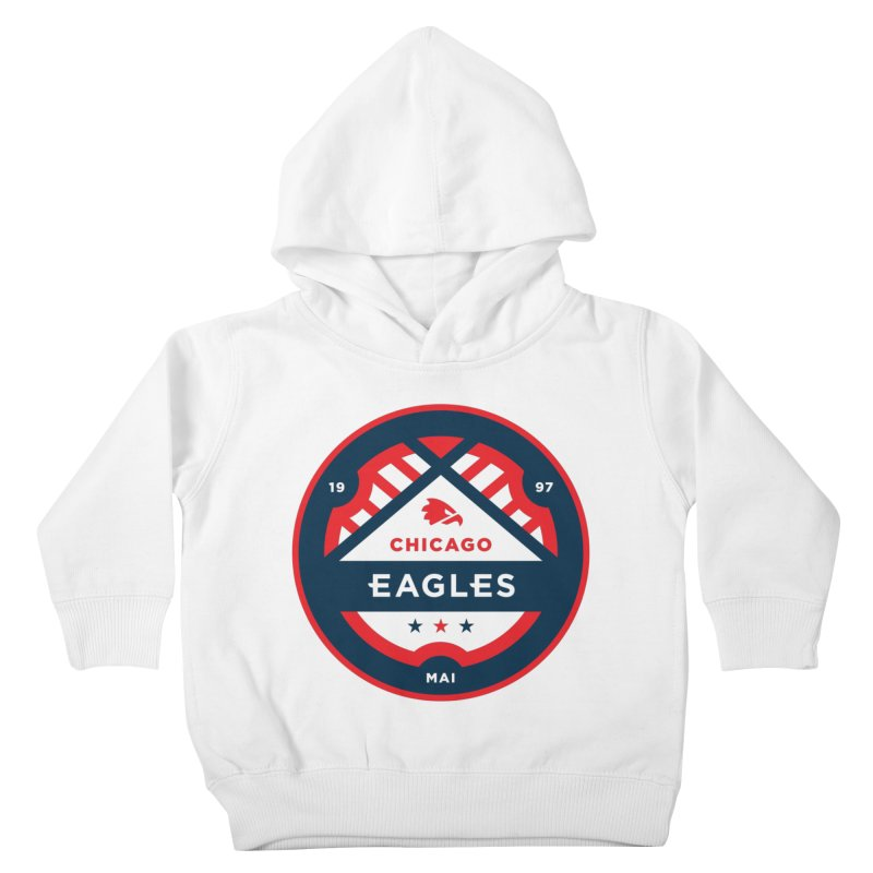 Chicago Eagles Crest Kids Toddler Pullover Hoody by Chicago Eagles