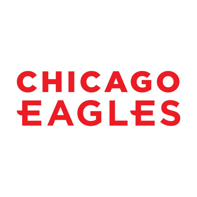 Red Wordmark by Chicago Eagles