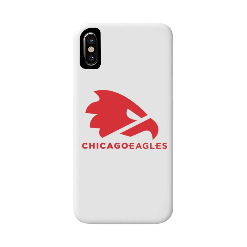 Red Eagles Mark Accessories Phone Case by Chicago Eagles