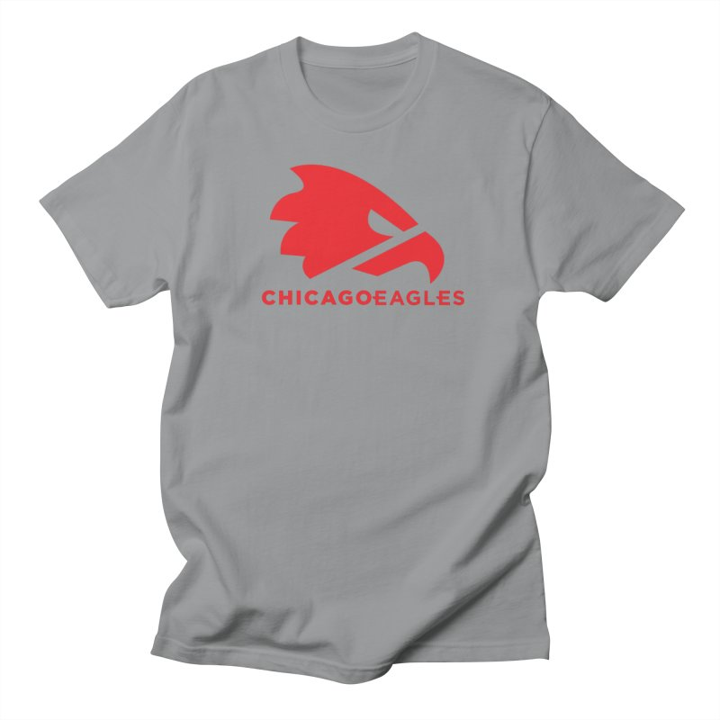 Red Eagles Mark Men's Regular T-Shirt by Chicago Eagles