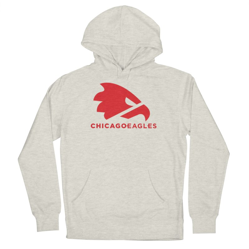 Red Eagles Mark Women's French Terry Pullover Hoody by Chicago Eagles