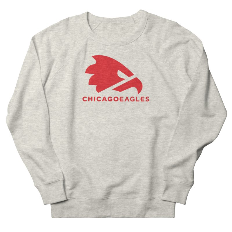 Red Eagles Mark Women's French Terry Sweatshirt by Chicago Eagles