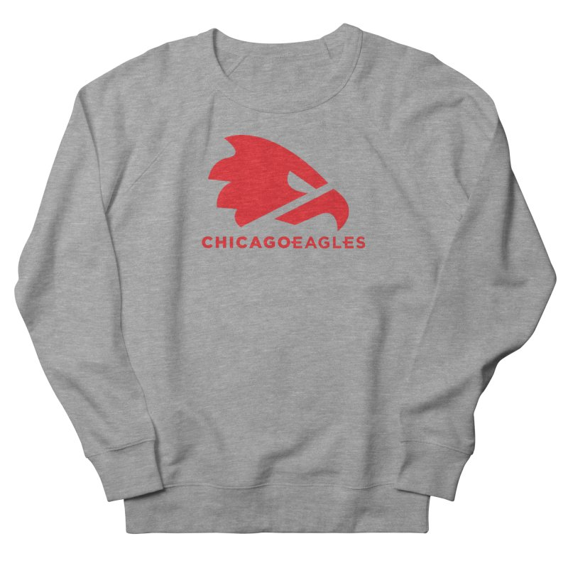 Red Eagles Mark Men's French Terry Sweatshirt by Chicago Eagles