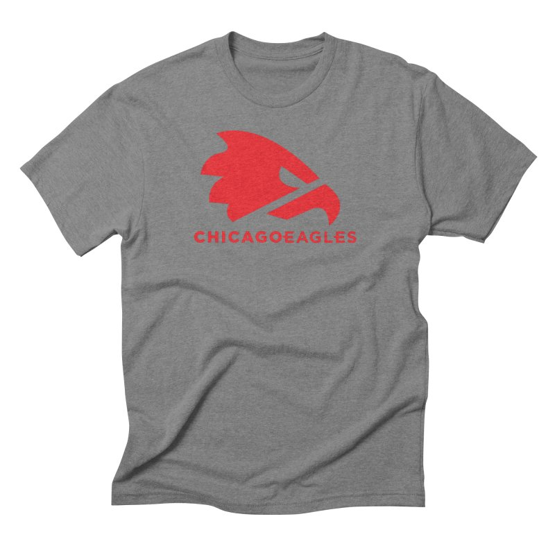 Red Eagles Mark Men's Triblend T-Shirt by Chicago Eagles