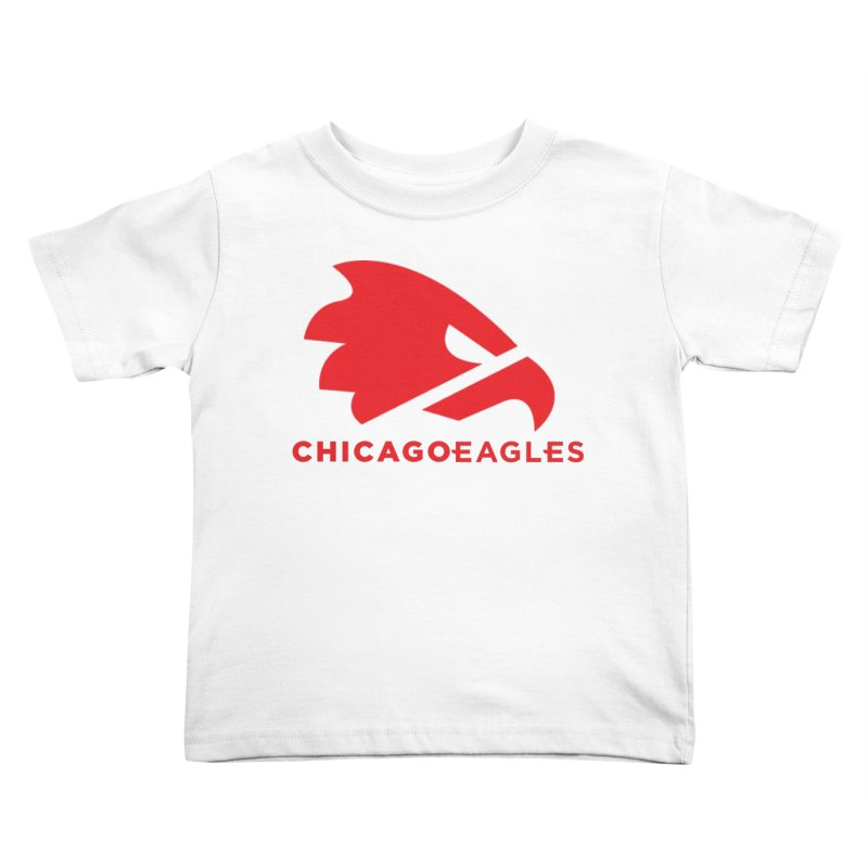 Red Eagles Mark Kids Toddler T-Shirt by Chicago Eagles