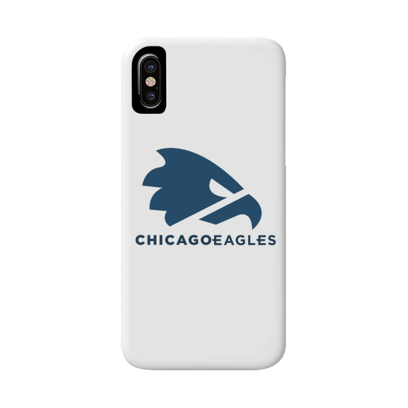 Navy Eagles Mark Accessories Phone Case by Chicago Eagles