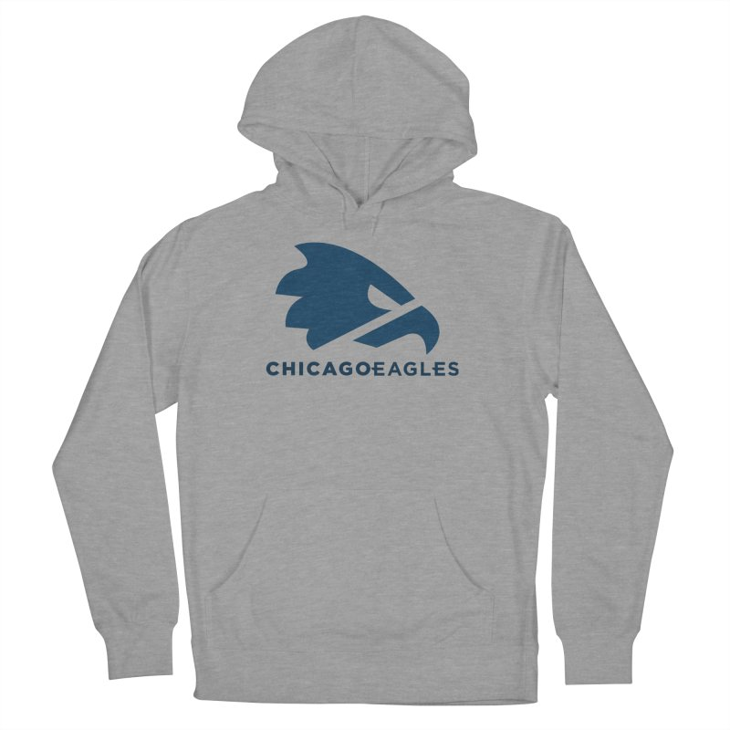 Navy Eagles Mark Women's French Terry Pullover Hoody by Chicago Eagles