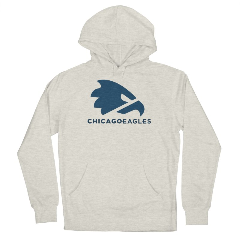 Navy Eagles Mark Men's French Terry Pullover Hoody by Chicago Eagles