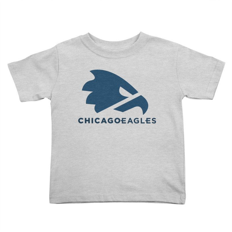 Navy Eagles Mark Kids Toddler T-Shirt by Chicago Eagles