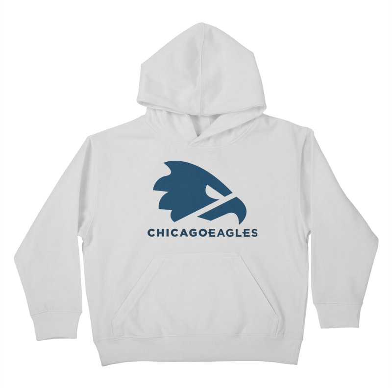 Navy Eagles Mark Kids Pullover Hoody by Chicago Eagles