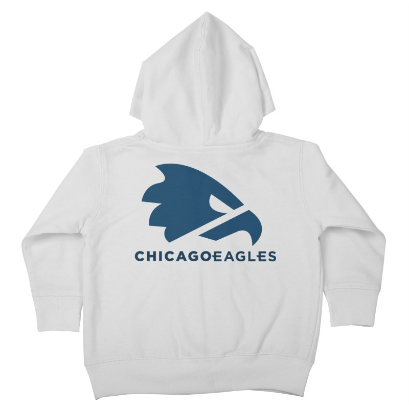 Navy Eagles Mark Kids Toddler Zip-Up Hoody by Chicago Eagles
