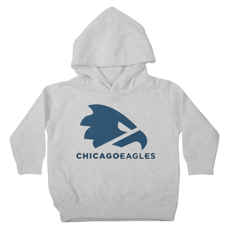 Navy Eagles Mark Kids Toddler Pullover Hoody by Chicago Eagles