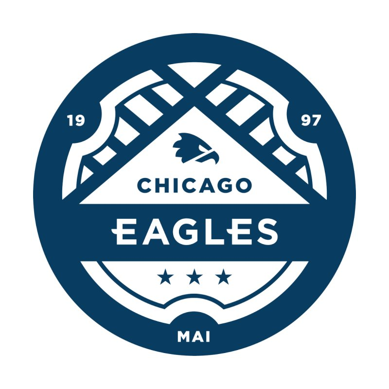 Navy Chicago Eagles Crest by chicagoeagles's Artist Shop
