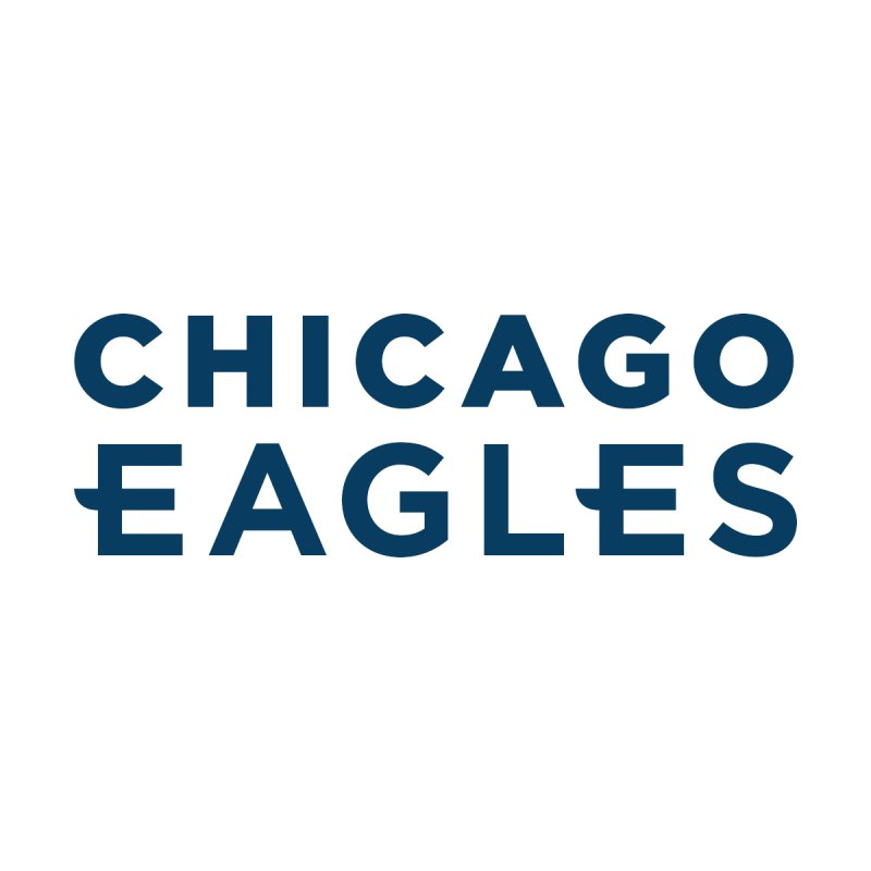 Navy Wordmark by Chicago Eagles