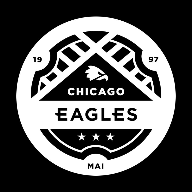 White Chicago Eagles Crest by chicagoeagles's Artist Shop
