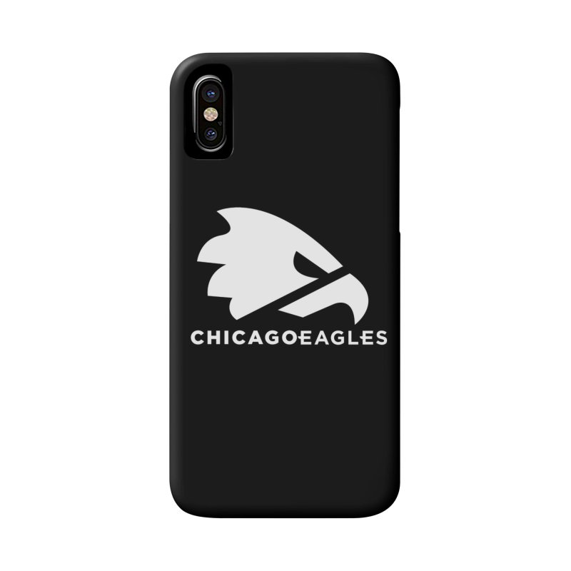 White Eagles Mark Accessories Phone Case by Chicago Eagles