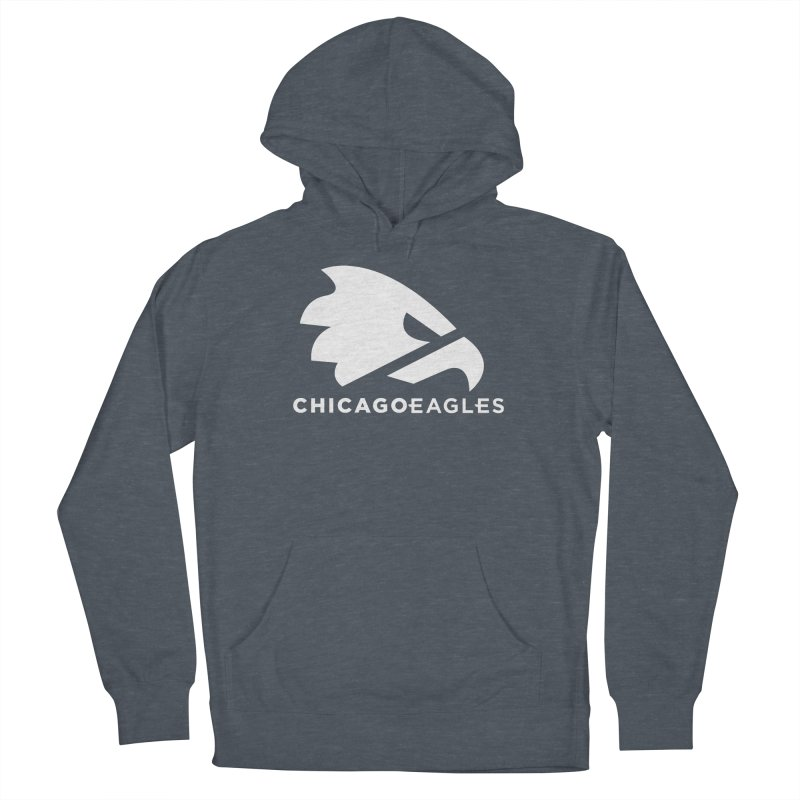 White Eagles Mark Men's French Terry Pullover Hoody by Chicago Eagles