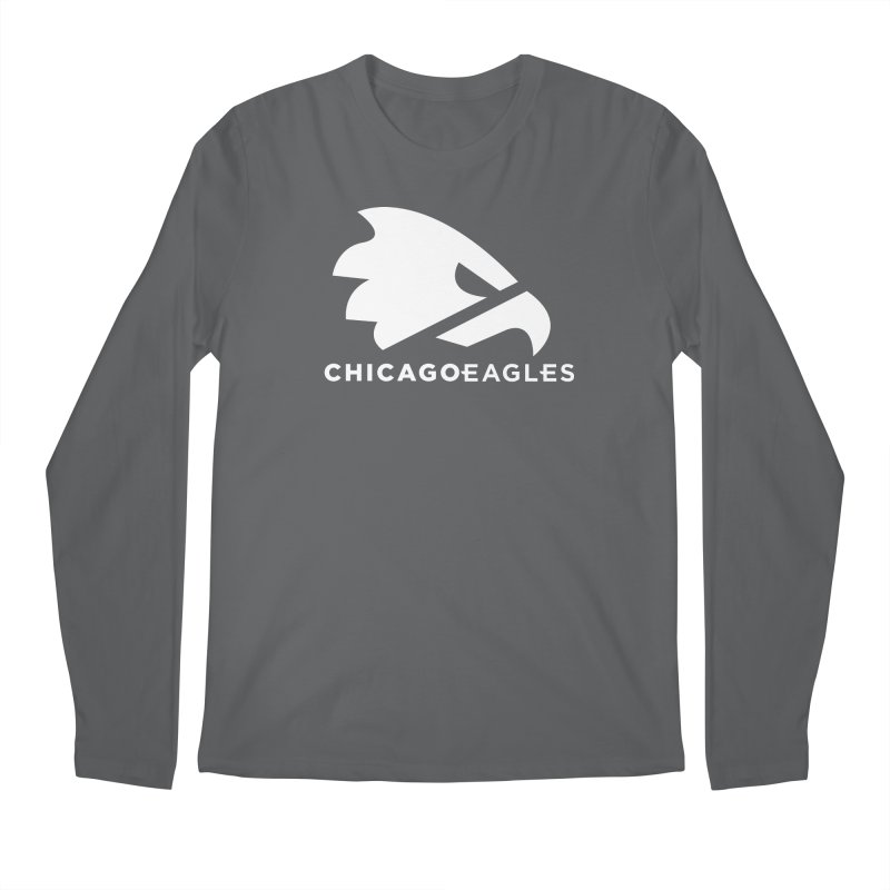 White Eagles Mark Men's Regular Longsleeve T-Shirt by Chicago Eagles
