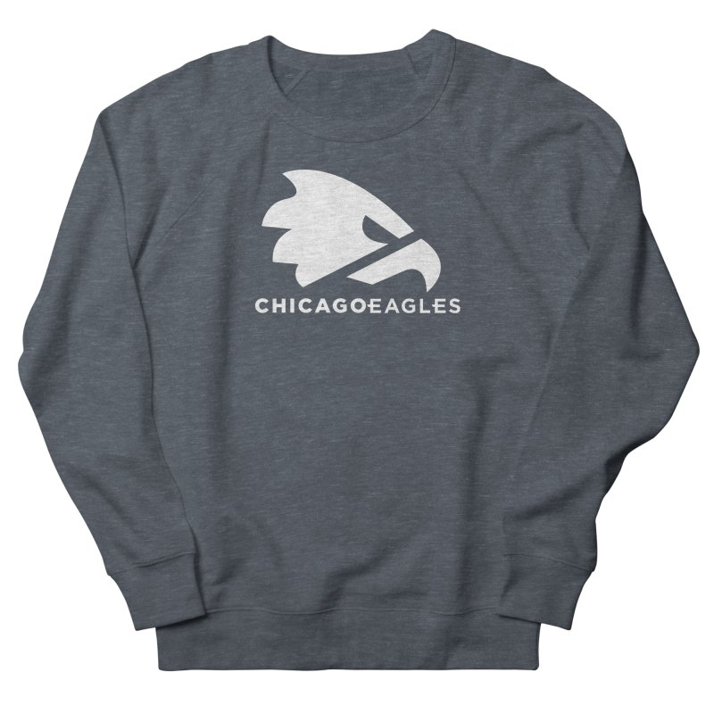 White Eagles Mark Women's French Terry Sweatshirt by Chicago Eagles
