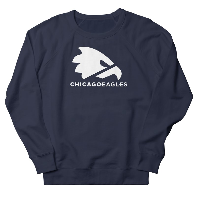 White Eagles Mark Men's French Terry Sweatshirt by Chicago Eagles
