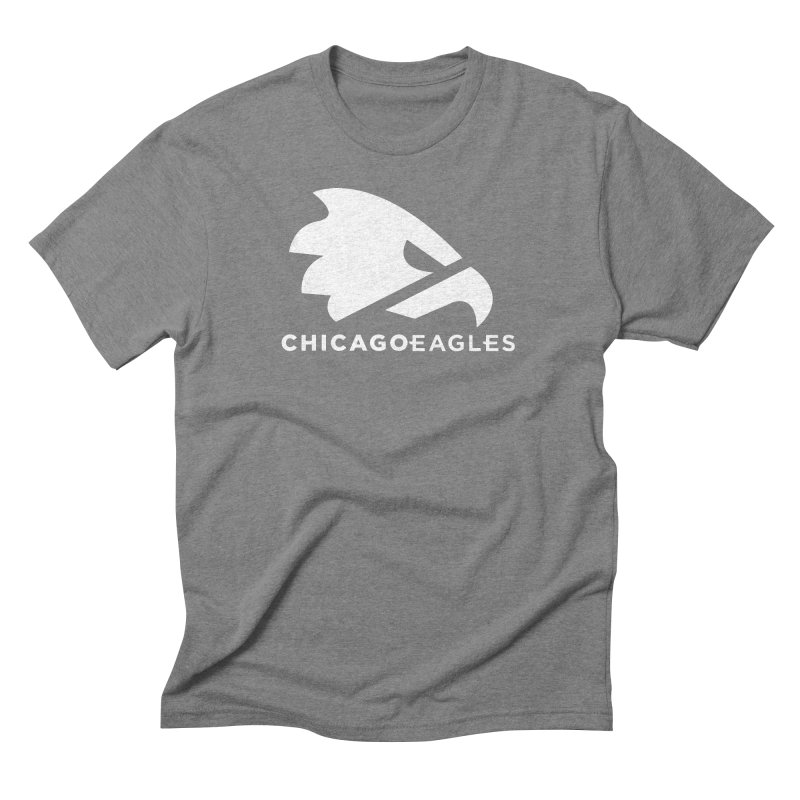 White Eagles Mark Men's Triblend T-Shirt by Chicago Eagles