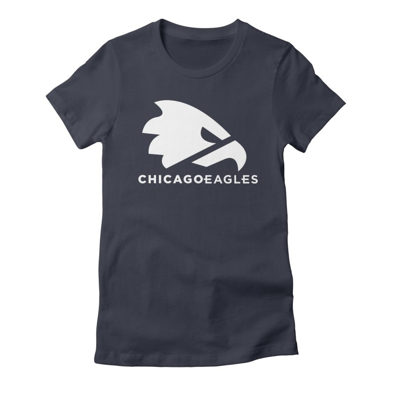 White Eagles Mark Women's Fitted T-Shirt by Chicago Eagles
