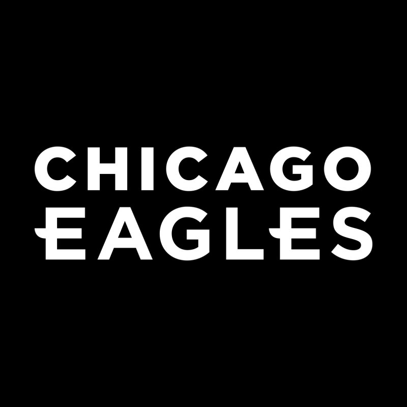 White Wordmark by chicagoeagles's Artist Shop