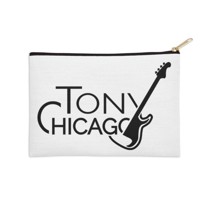 Tony Chicago Russell Black Accessories Zip Pouch by Chicago Music's Apparel and Retail Shop