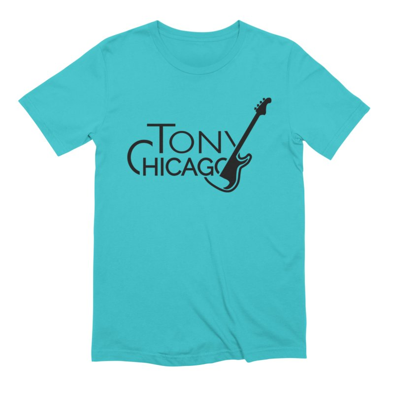Tony Chicago Russell Black Men's Extra Soft T-Shirt by Chicago Music's Apparel and Retail Shop