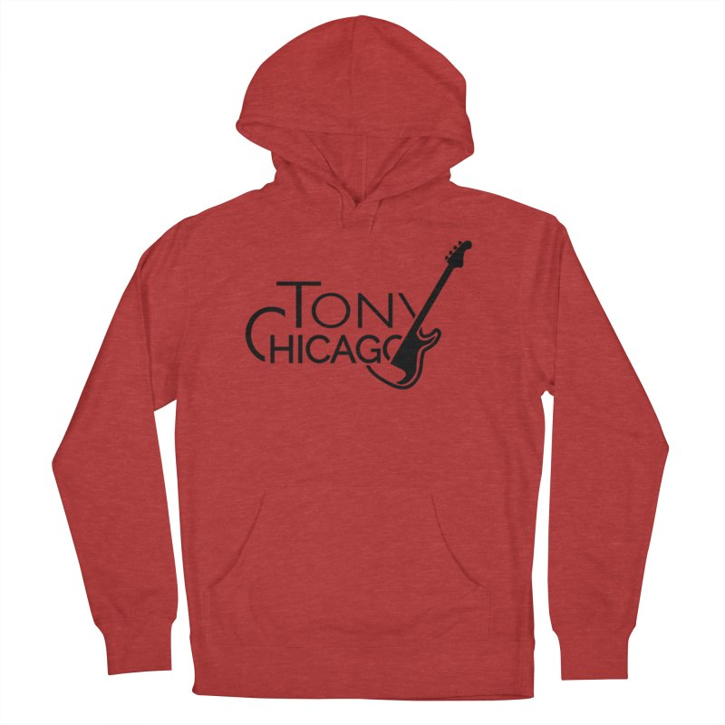 Tony Chicago Russell Black Women's French Terry Pullover Hoody by Chicago Music's Apparel and Retail Shop