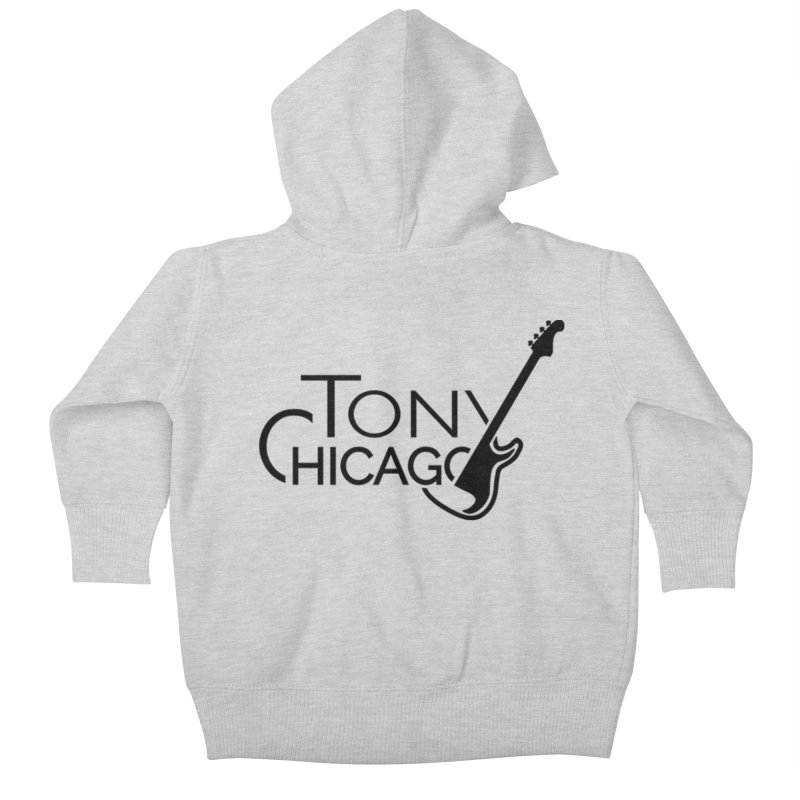 Tony Chicago Russell Black Kids Baby Zip-Up Hoody by Chicago Music's Apparel and Retail Shop