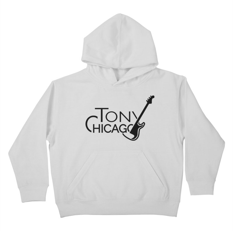 Tony Chicago Russell Black Kids Pullover Hoody by Chicago Music's Apparel and Retail Shop