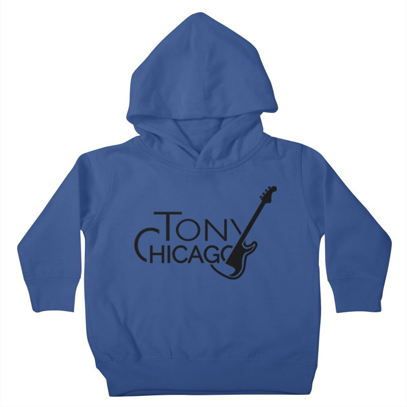 Tony Chicago Russell Black Kids Toddler Pullover Hoody by Chicago Music's Apparel and Retail Shop
