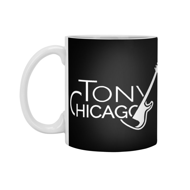 Tony Chicago Russell White Accessories Standard Mug by Chicago Music's Apparel and Retail Shop