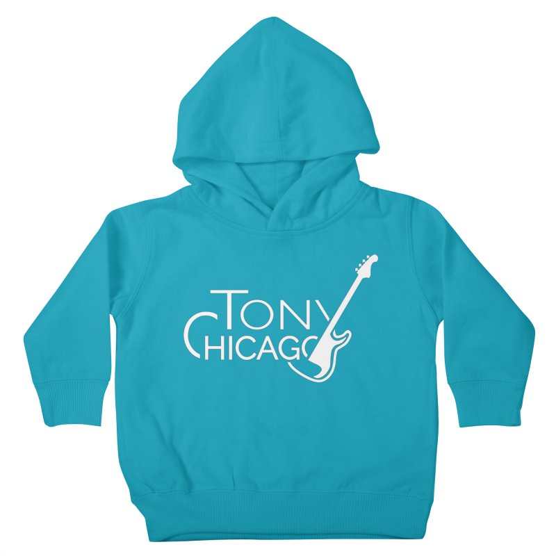 Tony Chicago Russell White Kids Toddler Pullover Hoody by Chicago Music's Apparel and Retail Shop