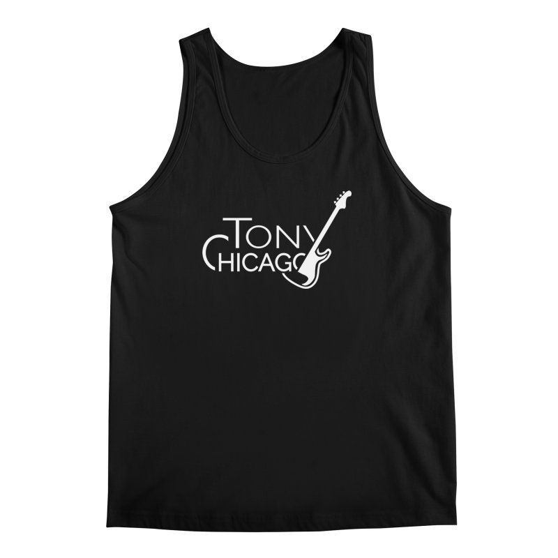 Tony Chicago Russell White Men's Regular Tank by Chicago Music's Apparel and Retail Shop
