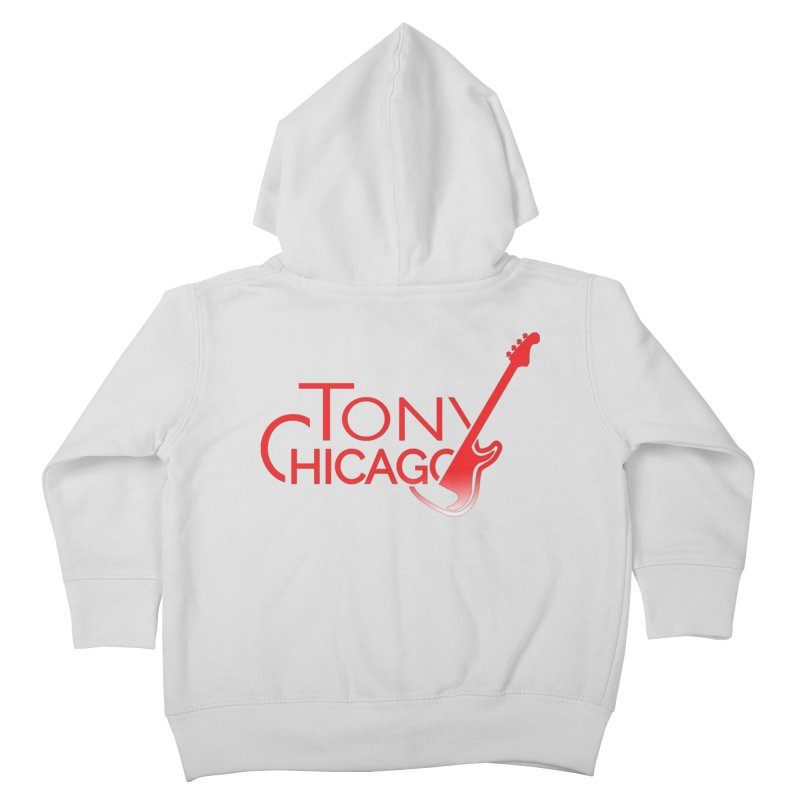 Tony Chicago Russell Red Gradient Kids Toddler Zip-Up Hoody by Chicago Music's Apparel and Retail Shop