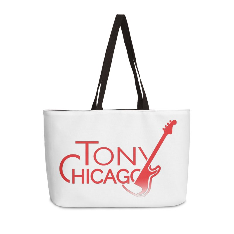 Tony Chicago Russell Red Gradient Accessories Weekender Bag Bag by Chicago Music's Apparel and Retail Shop