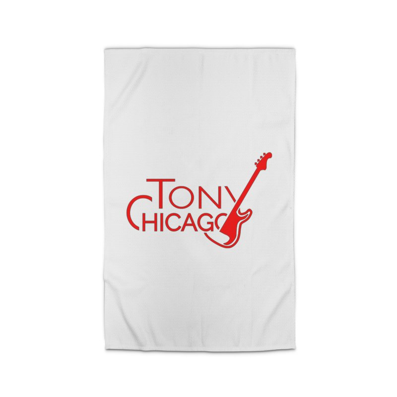 Tony Chicago Russell Red Home Rug by Chicago Music's Apparel and Retail Shop