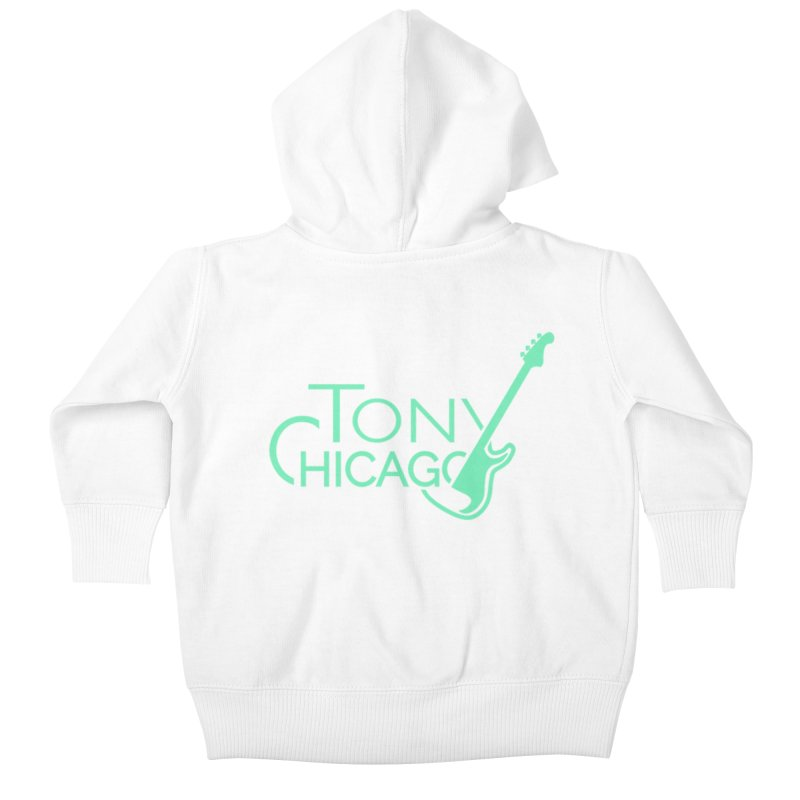 Tony Chicago Russell Sea Foam Green Kids Baby Zip-Up Hoody by Chicago Music's Apparel and Retail Shop