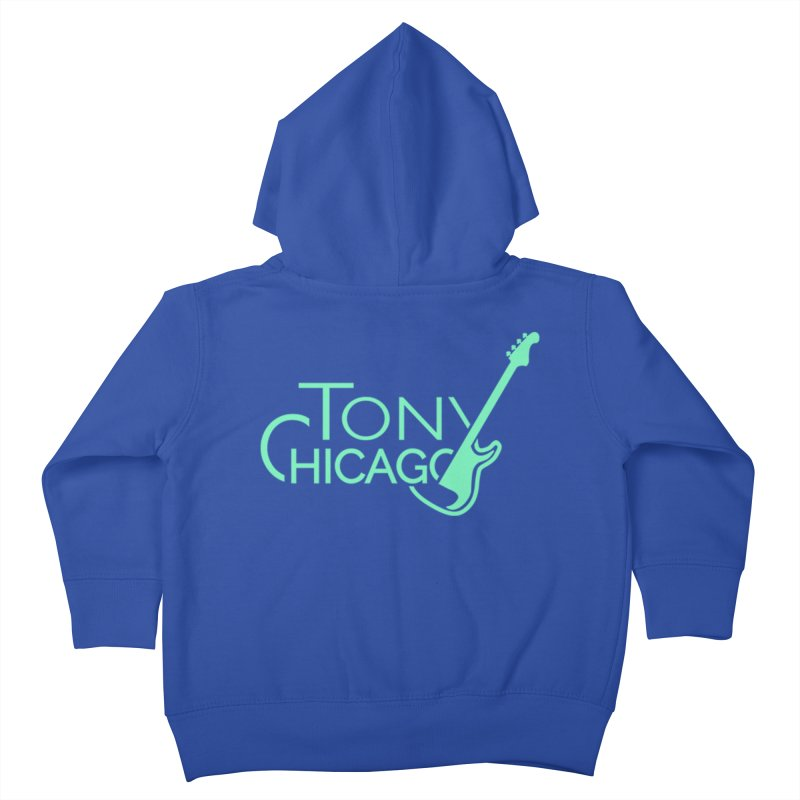 Tony Chicago Russell Sea Foam Green Kids Toddler Zip-Up Hoody by Chicago Music's Apparel and Retail Shop