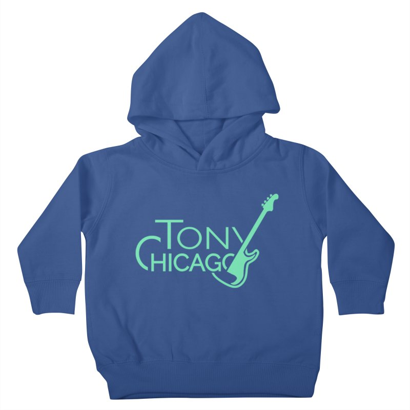 Tony Chicago Russell Sea Foam Green Kids Toddler Pullover Hoody by Chicago Music's Apparel and Retail Shop