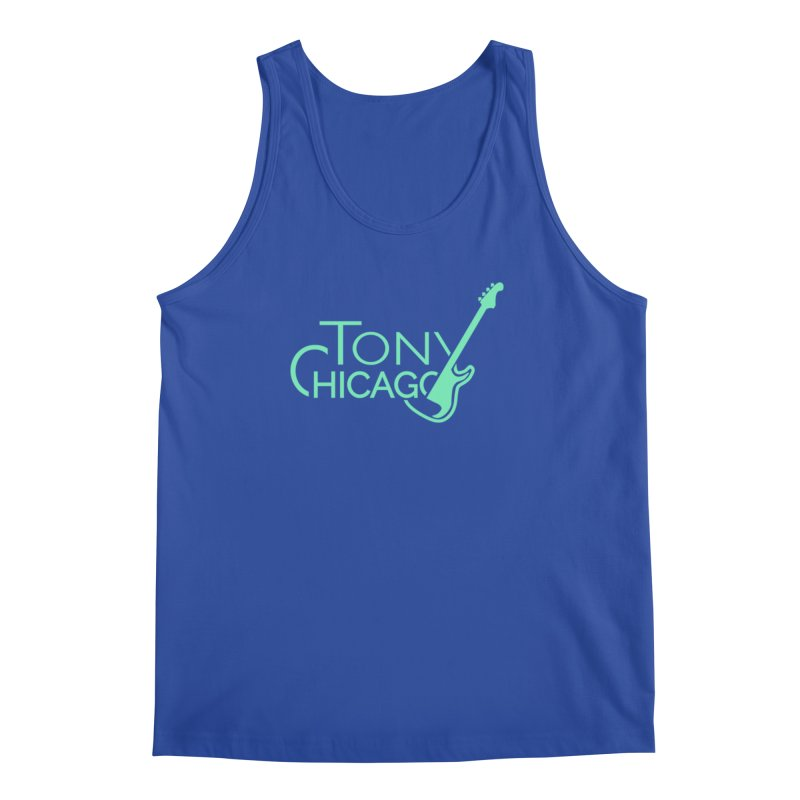 Tony Chicago Russell Sea Foam Green Men's Regular Tank by Chicago Music's Apparel and Retail Shop