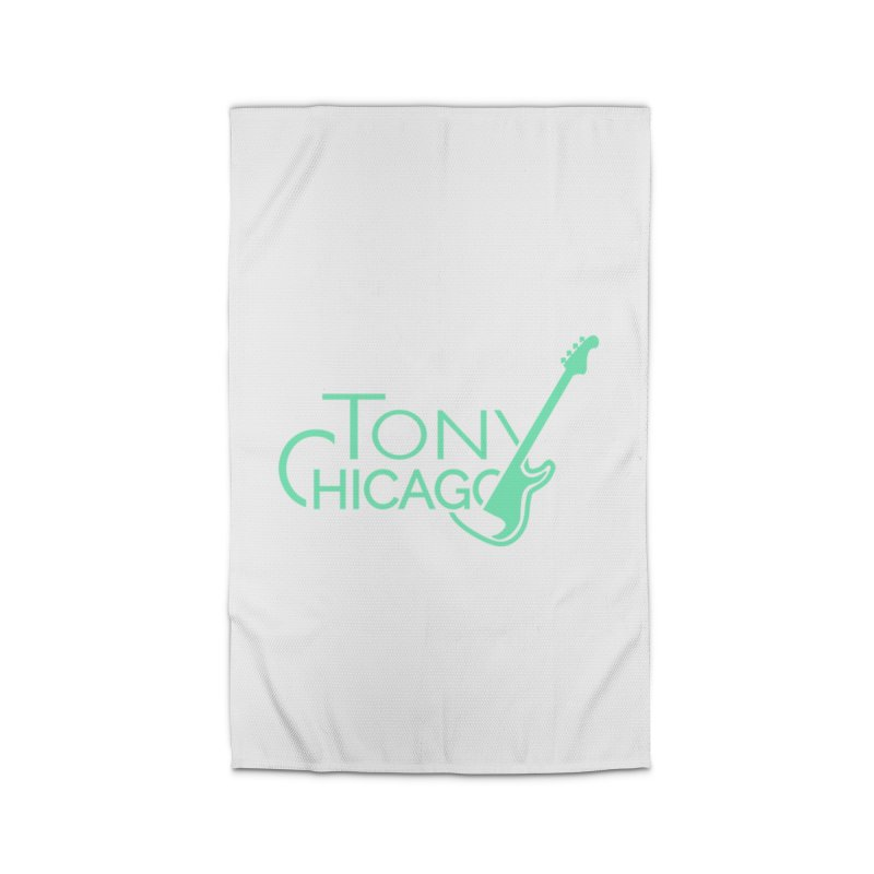 Tony Chicago Russell Sea Foam Green Home Rug by Chicago Music's Apparel and Retail Shop